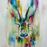 Escape - Hare Print by Katy Jade Dobson
