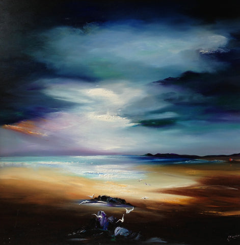 Majestic Skies Original by Lillias Blackie *SOLD*