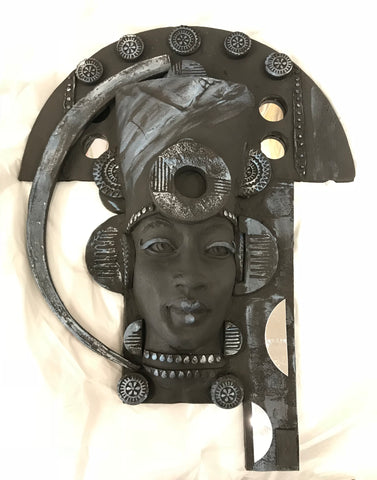 ZeZee Original Steampunk Sculpture by Lucinda Brown *SOLD*