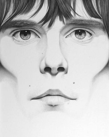 Ian Brown Stone Roses Original by Lee Coleman