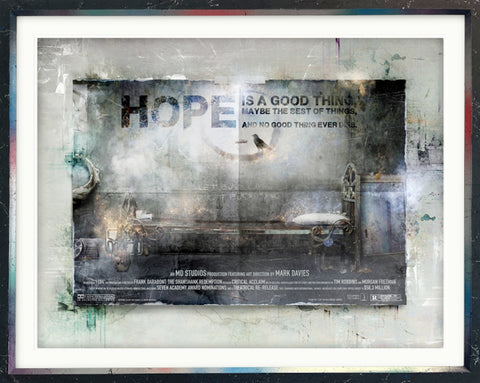 I Hope (The Shawshank Redemption) Billboard by Mark Davies *NEW*