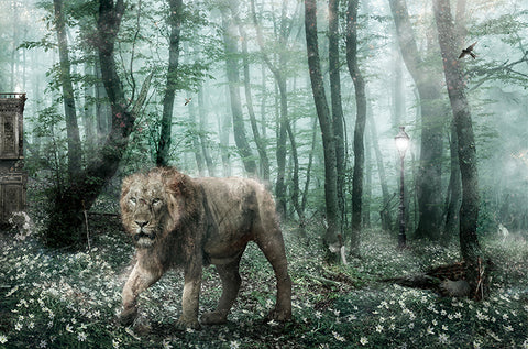 Deliver Us From Evil (Narnia II) by Mark Davies-Limited Edition Print-Mark-Davies-British-artist-The Acorn Gallery