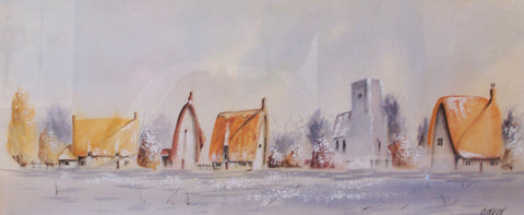A Winters Morn Original by Mike Jackson *SOLD*