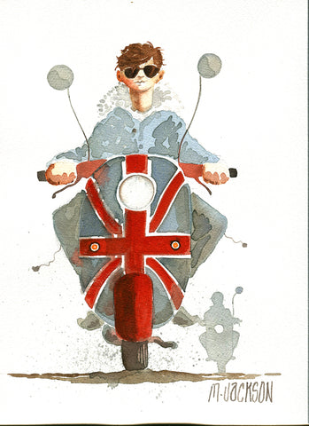 Daddy Cool Original by Mike Jackson *SOLD*