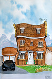 Quirky House Originals by Mike Jackson - House Portraits