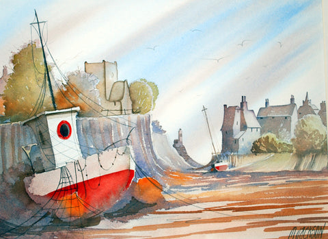 Open Harbour Original by Mike Jackson *SOLD*