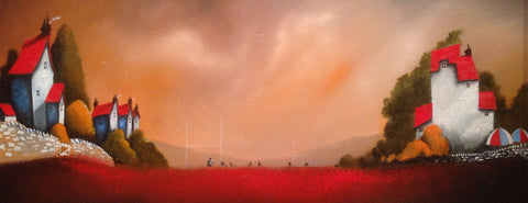 Sunset Sevens Original by Mike Jackson *SOLD*