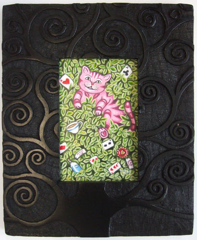 Cheshire Cat In His Tree Original by Marie Louise Wrightson *NEW*