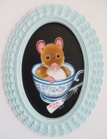 More Tea Please Original by Marie Louise Wrightson *SOLD*