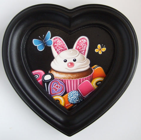 Sweet Tooth Bunny Original by Marie Louise Wrightson *NEW*