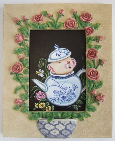 The Teapot Mouse Original by Marie Louise Wrightson *NEW*
