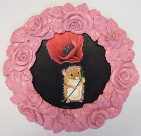 A Little Remembrance Original by Marie Louise Wrightson *SOLD*-Original Art-Marie-Louise-Wrightson-The Acorn Gallery