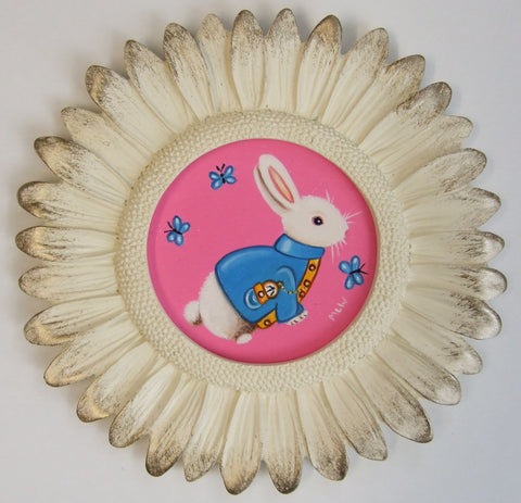 Alice's Little White Rabbit Original by Marie Louise Wrightson *SOLD*