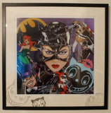 Catwoman, Batman Returns by Marie Louise Wrightson *NEW*-Original Art-Marie-Louise-Wrightson-The Acorn Gallery