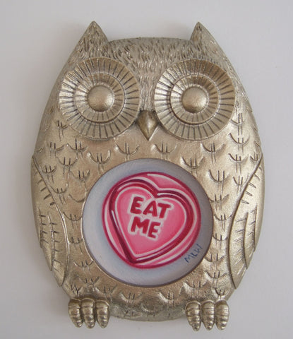 Eat Me Original by Marie Louise Wrightson *NEW*-Original Art-Marie-Louise-Wrightson-The Acorn Gallery
