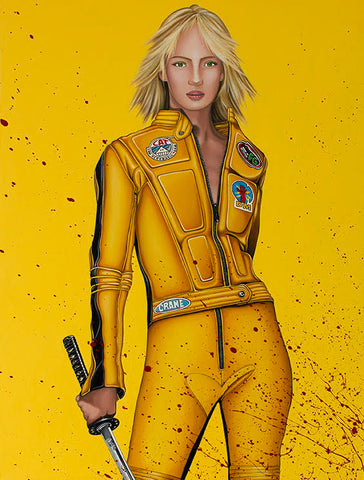 The Bride (Kill Bill) by Marie Louise Wrightson-Limited Edition Print-Marie-Louise-Wrightson-The Acorn Gallery