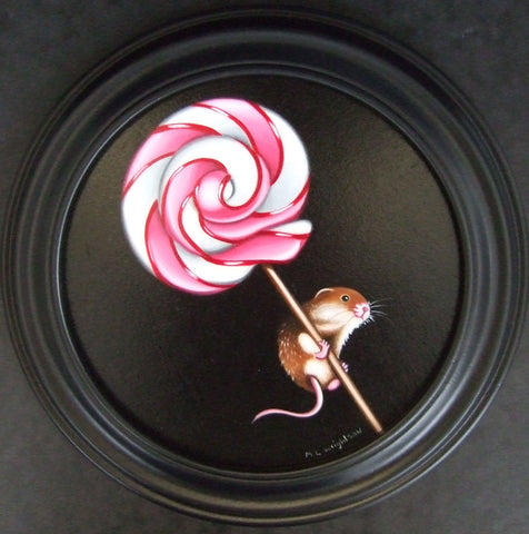 Mousy Pop Original by Marie Louise Wrightson *SOLD*