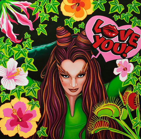 Poison Ivy by Marie Louise Wrightson