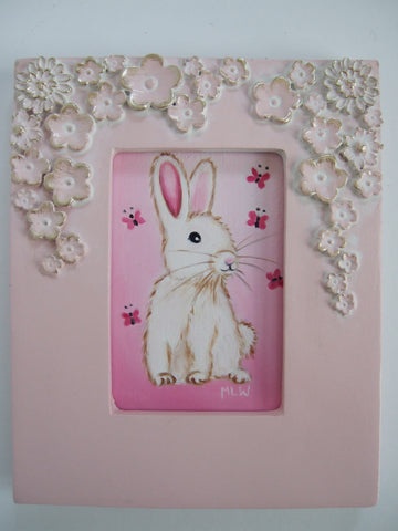 Sweet Little Bunny Original by Marie Louise Wrightson *SOLD*