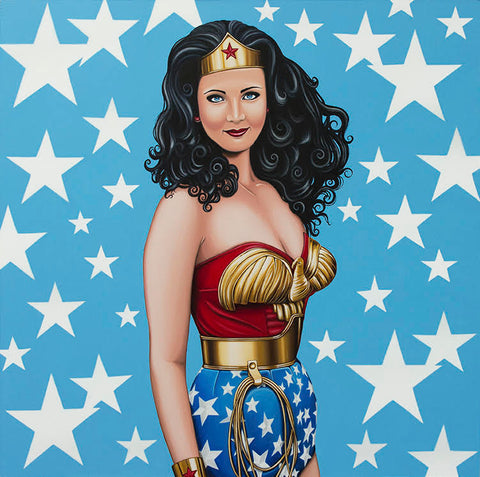 Wonder Woman by Marie Louise Wrightson