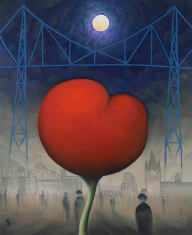 Heart Of The North by Mackenzie Thorpe-Limited Edition Print-The Acorn Gallery-Mackenzie-Thorpe-artist-The Acorn Gallery