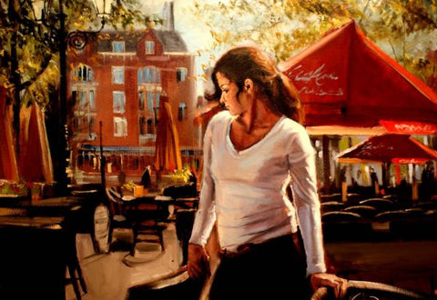 Morning Waitress Original by Kevin Day *SOLD*