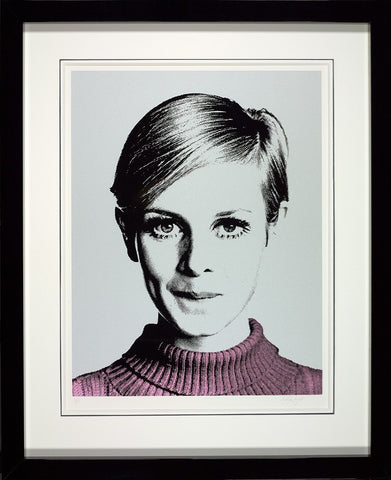 Cover Girl (Twiggy) Paper by Nuala Mulligan
