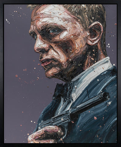 007 Canvas by Paul Oz *NEW*