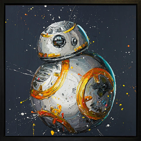 BB8 Canvas by Paul Oz *NEW*