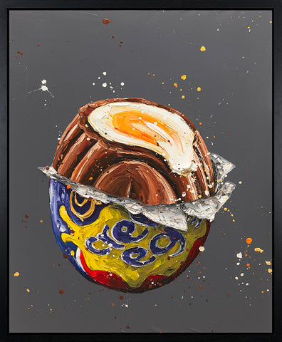 How Do You Eat Yours? (Cadbury's Creme Egg) Canvas by Paul Oz *NEW*