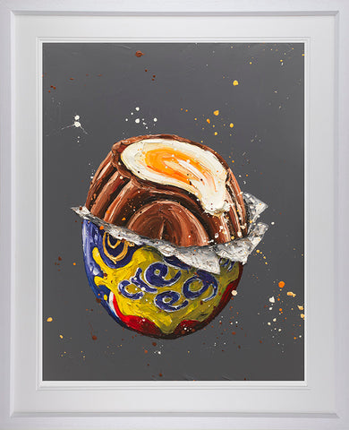 How Do You Eat Yours? (Cadbury's Creme Egg) Paper by Paul Oz *NEW*