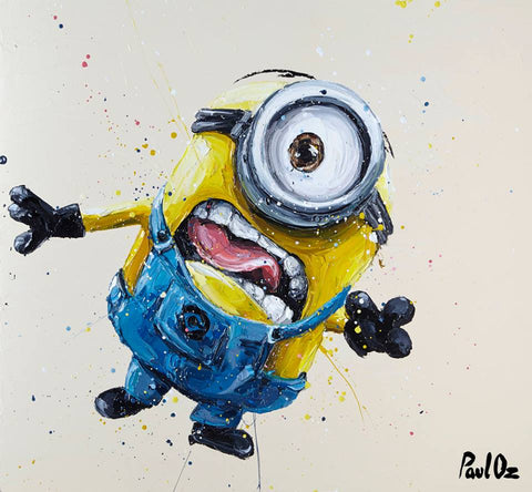 Stuart The Minion Canvas by Paul Oz