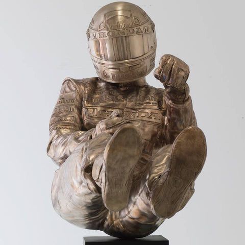 Senna Bronze Sculpture by Paul Oz *NEW*