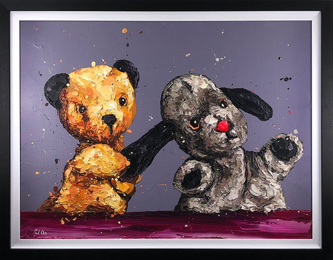 The Sooty Show (Sooty And Sweep) Canvas by Paul Oz