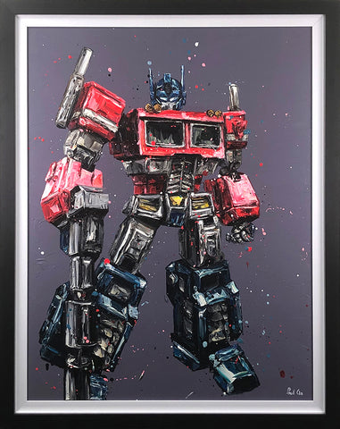 Transform And Roll Out (Optimus Prime/Transformers) Canvas by Paul Oz