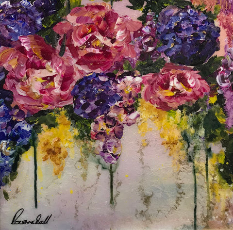 Abundance I Original by Rozanne Bell *SOLD*