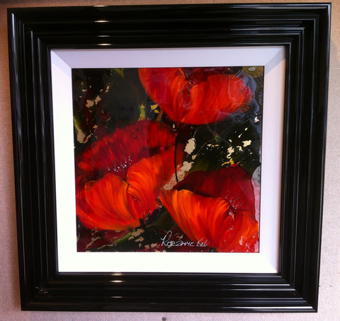 Poppies Original by Rozanne Bell *SOLD*