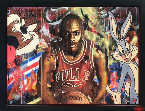 MJ's Space Jam Original by Rob Bishop
