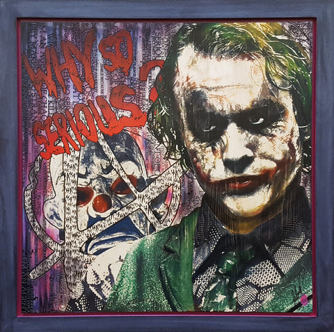 So Serious (Joker) by Rob Bishop