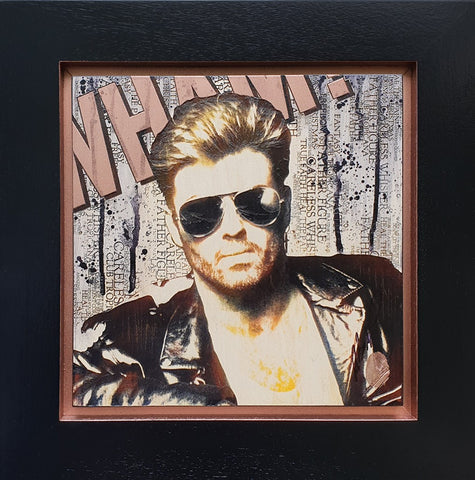 Mini George Michael by Rob Bishop