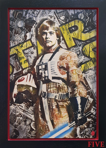 Comic On Luke (Star Wars) by Rob Bishop
