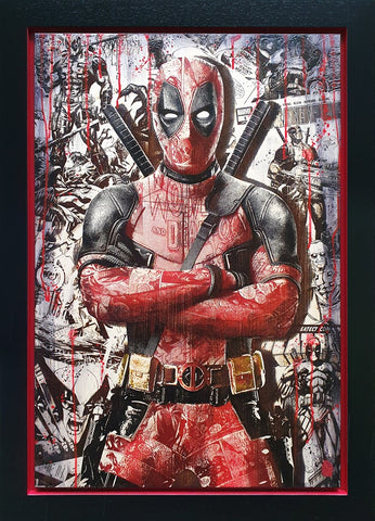 Comic On Deadpool by Rob Bishop