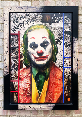 Arthur Fleck (Joker) by Rob Bishop *SOLD*