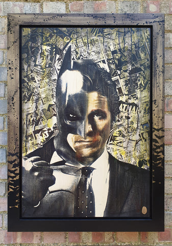 The Dark Knight (Batman - Christian Bale) by Rob Bishop *SOLD*
