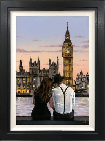 Westminster Sunset Canvas by Richard Blunt *NEW*