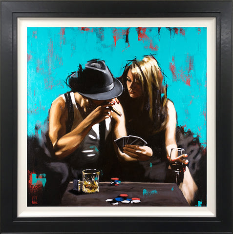 Royal Flush (Spring Collection) by Richard Blunt-Limited Edition Print-Richard-Blunt-artist-The Acorn Gallery