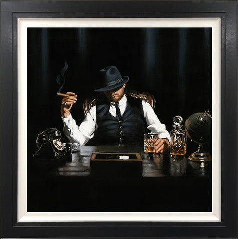 The Boss (High Rollers Collection) Canvas by Richard Blunt *NEW*