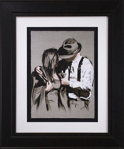The Gentleman by Richard Blunt *NEW*-Original Art-Richard-Blunt-artist-The Acorn Gallery