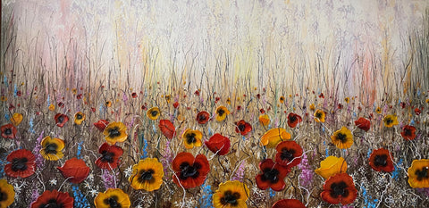 Wildflowers Original by Robert Cox *NEW*
