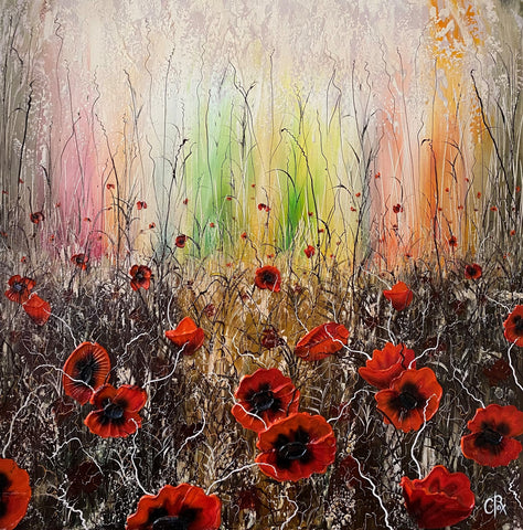 Poppyfield Original by Robert Cox *NEW*